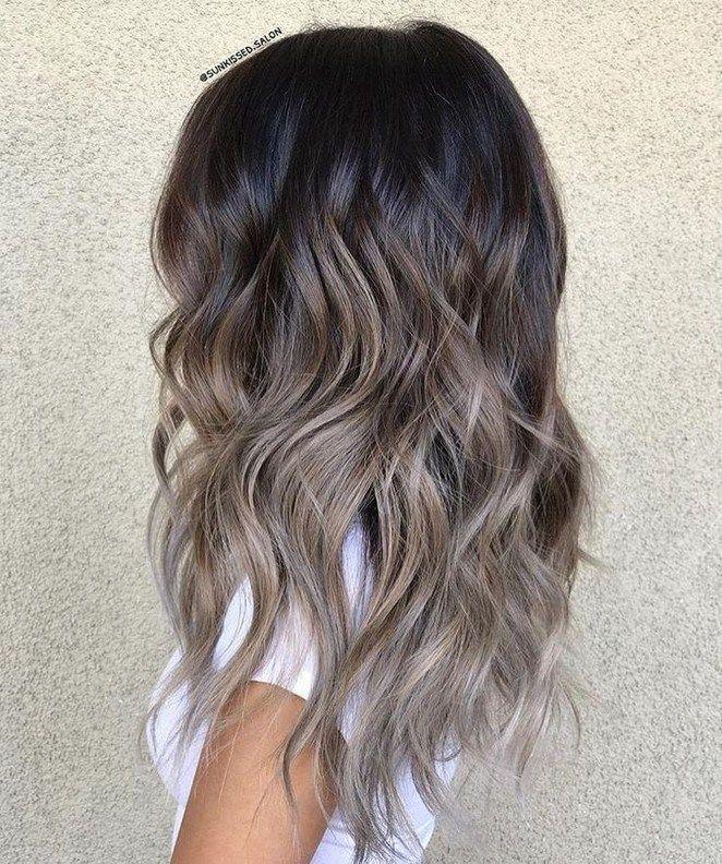 38+ mode BALAYAGE Idées Couleur des cheveux pour Brunettes – Conseils beauté – balayage hair