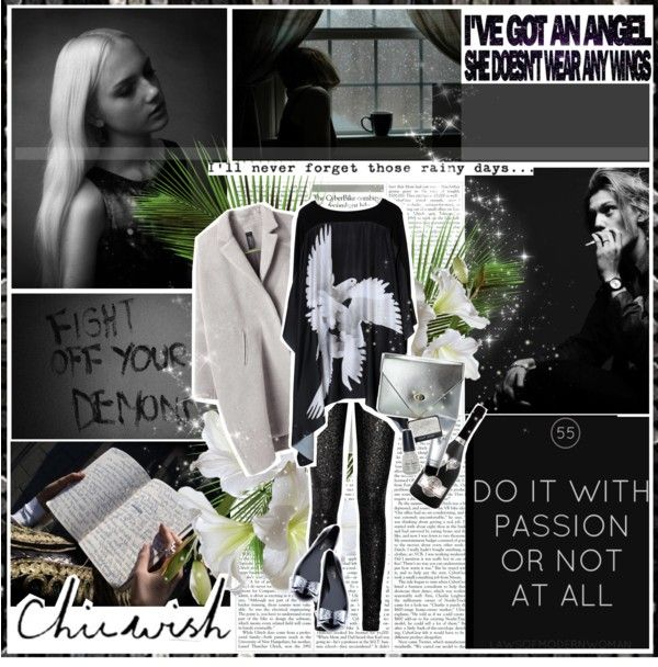 """""""Sparkling angel I believed You were my saviour in my time of need. Blinded by faith I couldn't hear All the whispers, the warnings so clear."""" by aniael on Polyvore"""