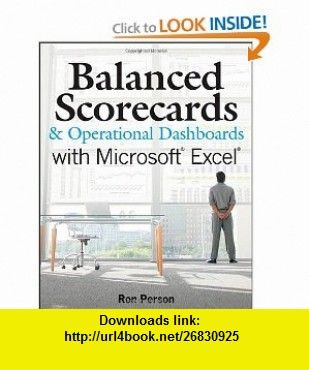 Balanced Scorecards and Operational Dashboards with