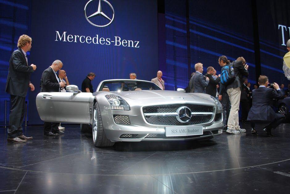 Pic of Mercedes Benz SLS