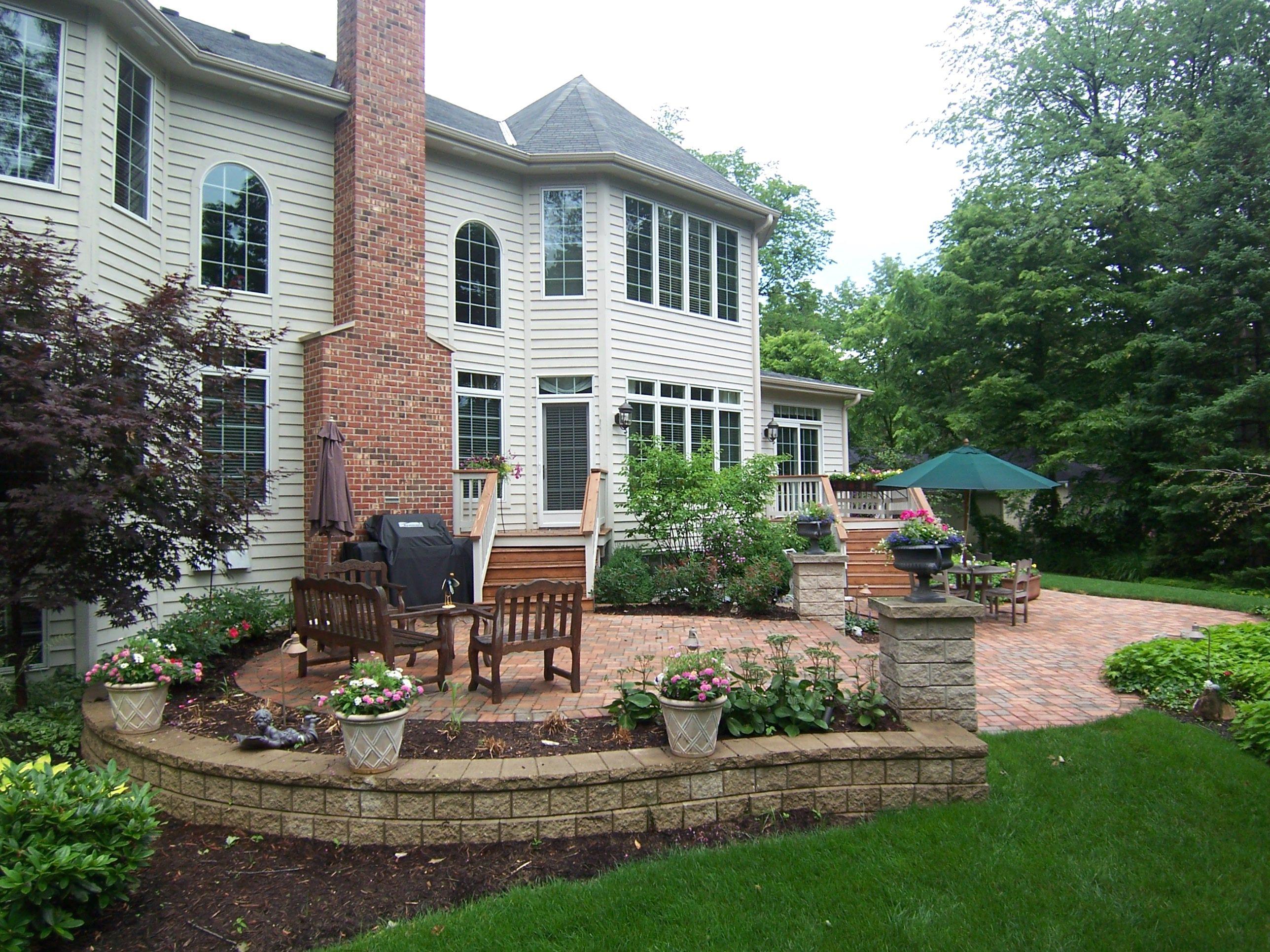 Patio Pavers | Paving Stones | Custom Patio Design D M ... on D&M Outdoor Living Spaces id=23220