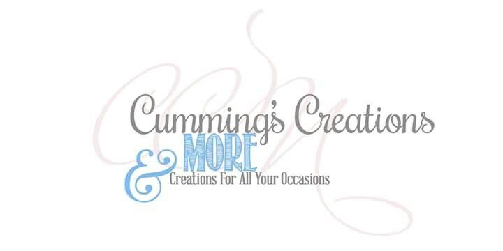 Cummings' Creations & More is your one stop shop to make every occasion special. Check us out www.cummingscreationsandmore.com  And visit us on facebook to see more www.facebook.com/cummingscreationsmore
