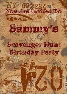 20 Free Mall Scavenger Hunt Riddles Laurens Birthday Party