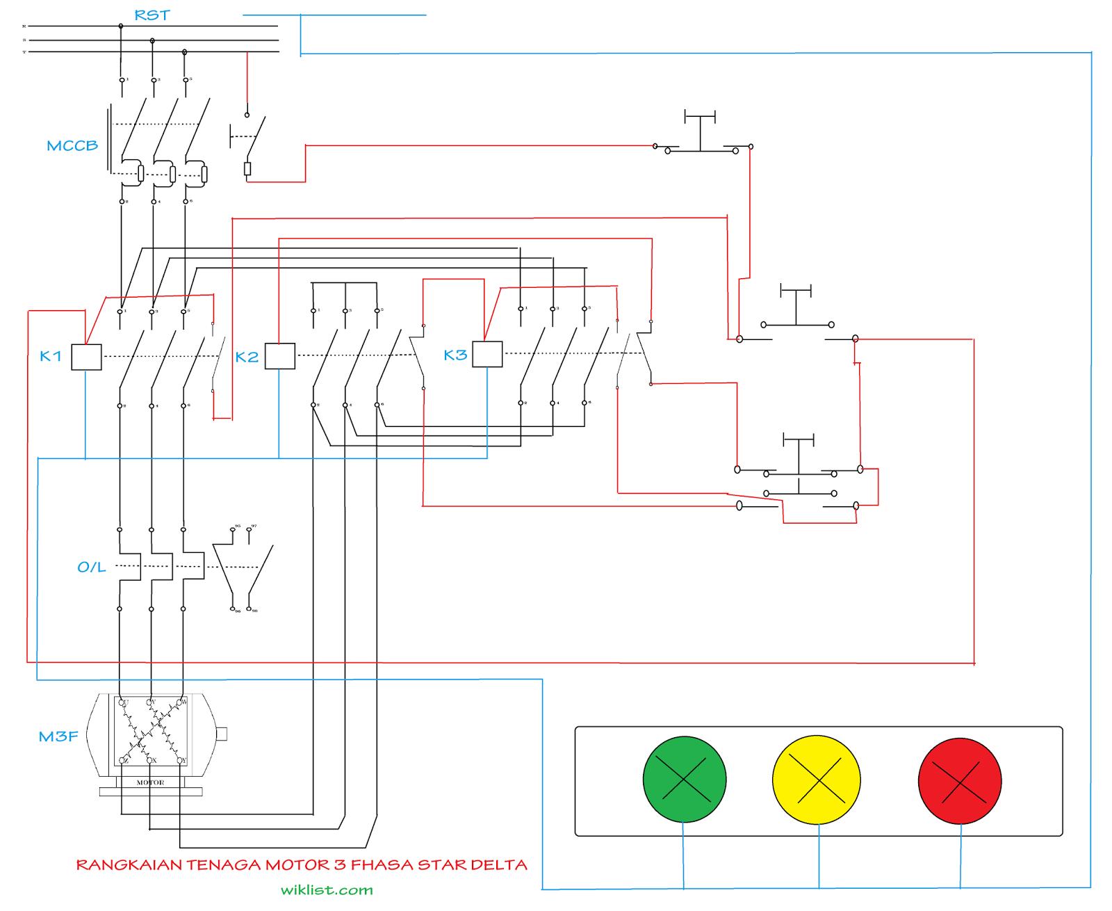 Fungsi Pengunci dan pengaman kontaktor magnet pada sistem kontrol ...