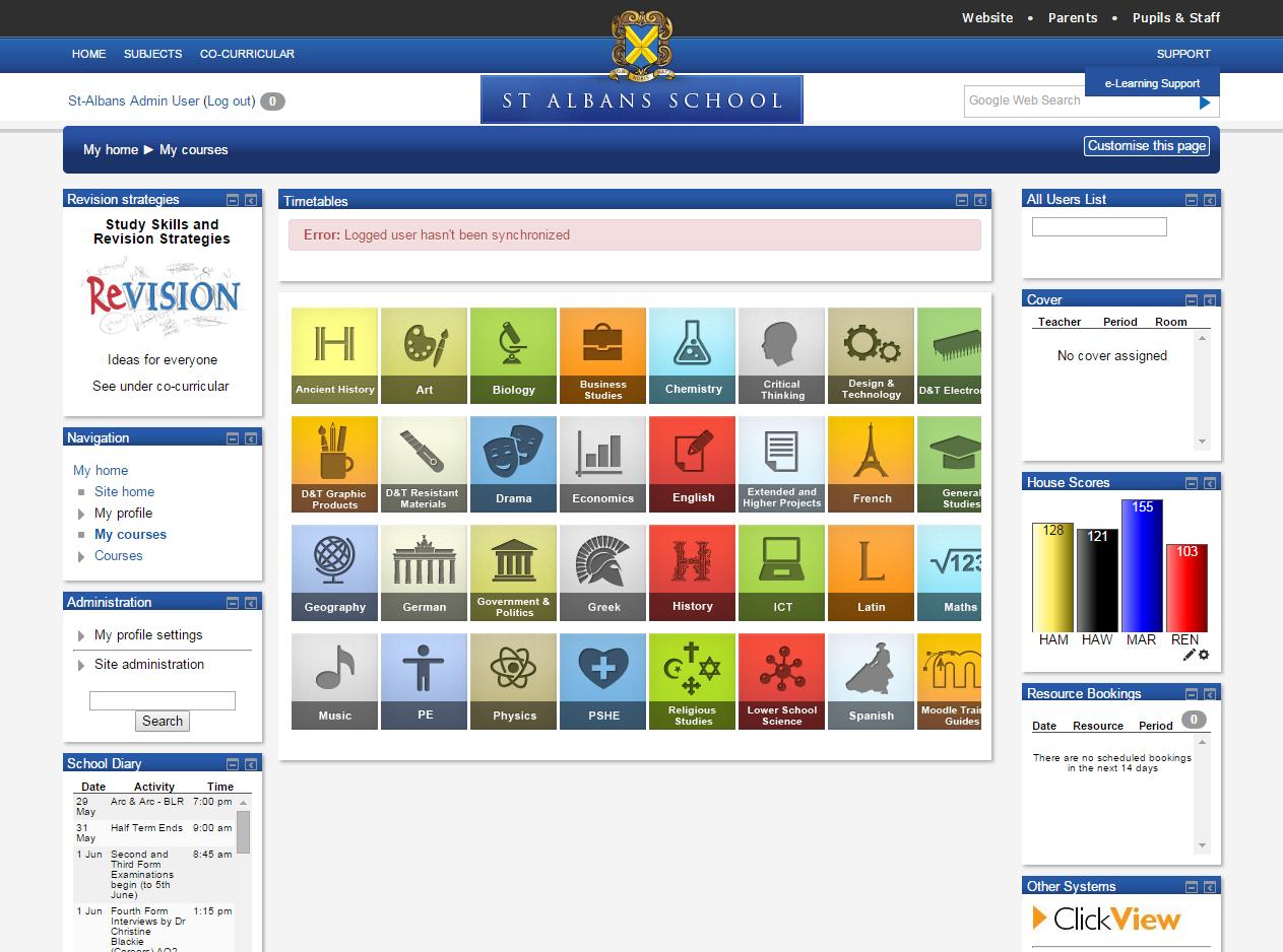 School Website Design Primary And Secondary School Websites