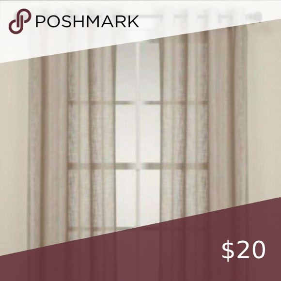 Alton Solid Grommet 95 Inch Window Curtain Panel I In 2020 Panel