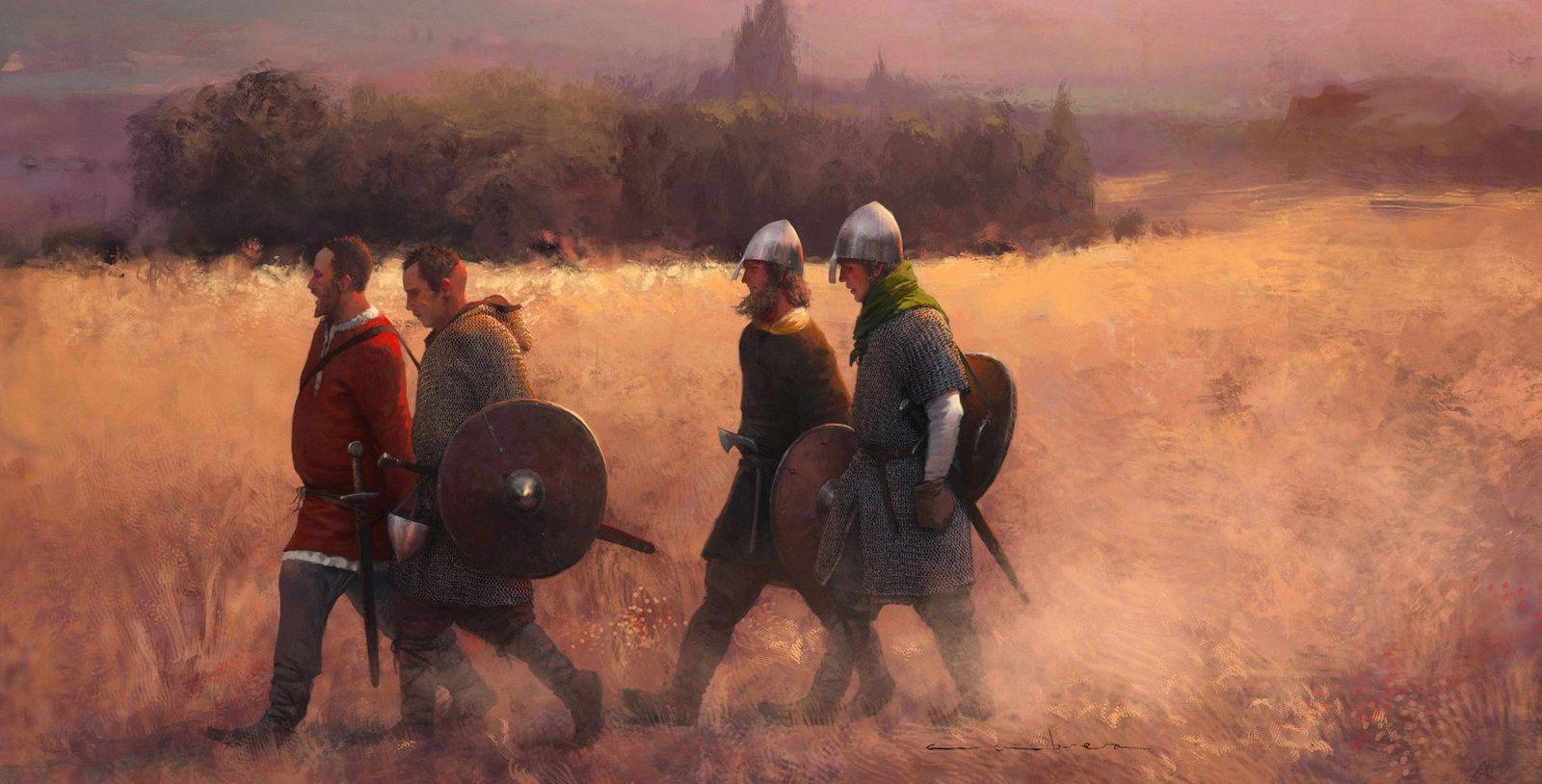Cid infantry, Jose Daniel Cabrera Peña on ArtStation at http://www.artstation.com/artwork/cid-infantry