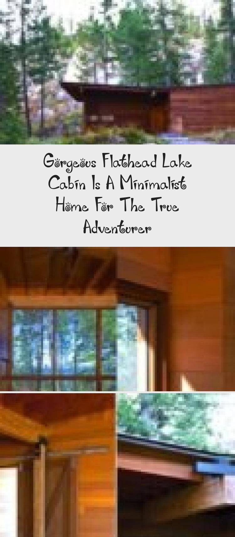 Gorgeous Flathead Lake Cabin Is A Minimalist Home For The True