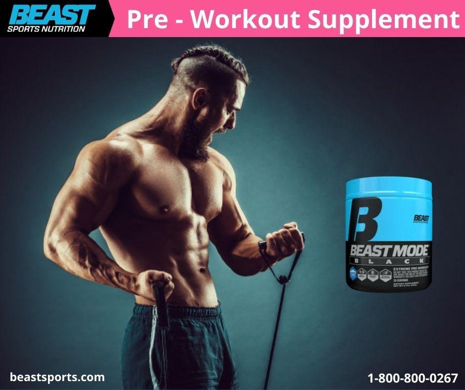 Beast Mode Black Best Pre Workout Supplement Workout Supplements For Men Pre Workout Supplement