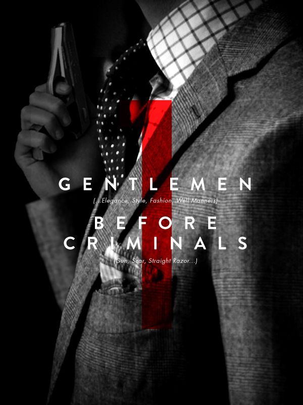The Tailors - Gentlemen Criminals by Valentino Borghesi, via Behance