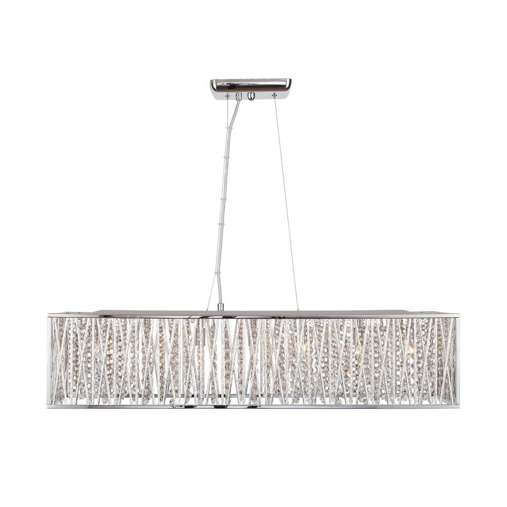 Pin By Sarah O Rourke On Master Closet Chrome Chandeliers Acrylic Chandelier Crystal Chandelier