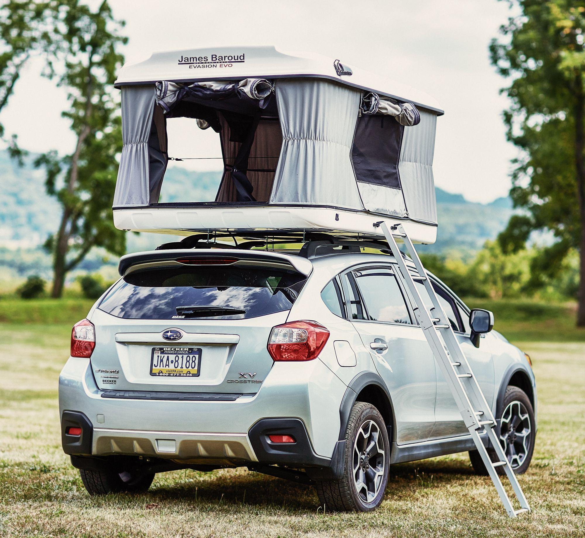 James Baroud Evasion Rooftop Tent Car
