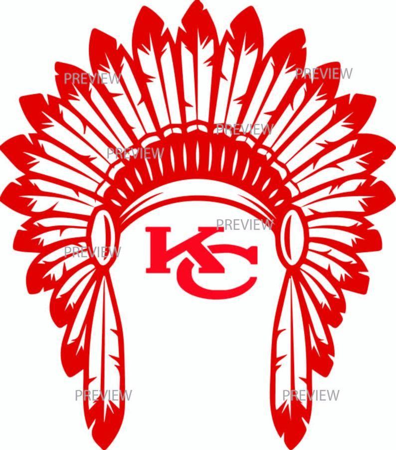 Kc Chiefs Headdress Svg Kansas City Shirt Chiefs Shirt Etsy Chiefs Shirts Shirts With Sayings Kansas City