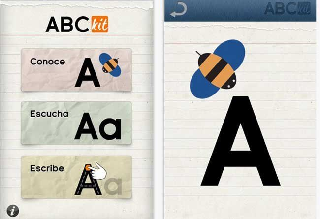 iphone app learn ABC in spanish Learning abc
