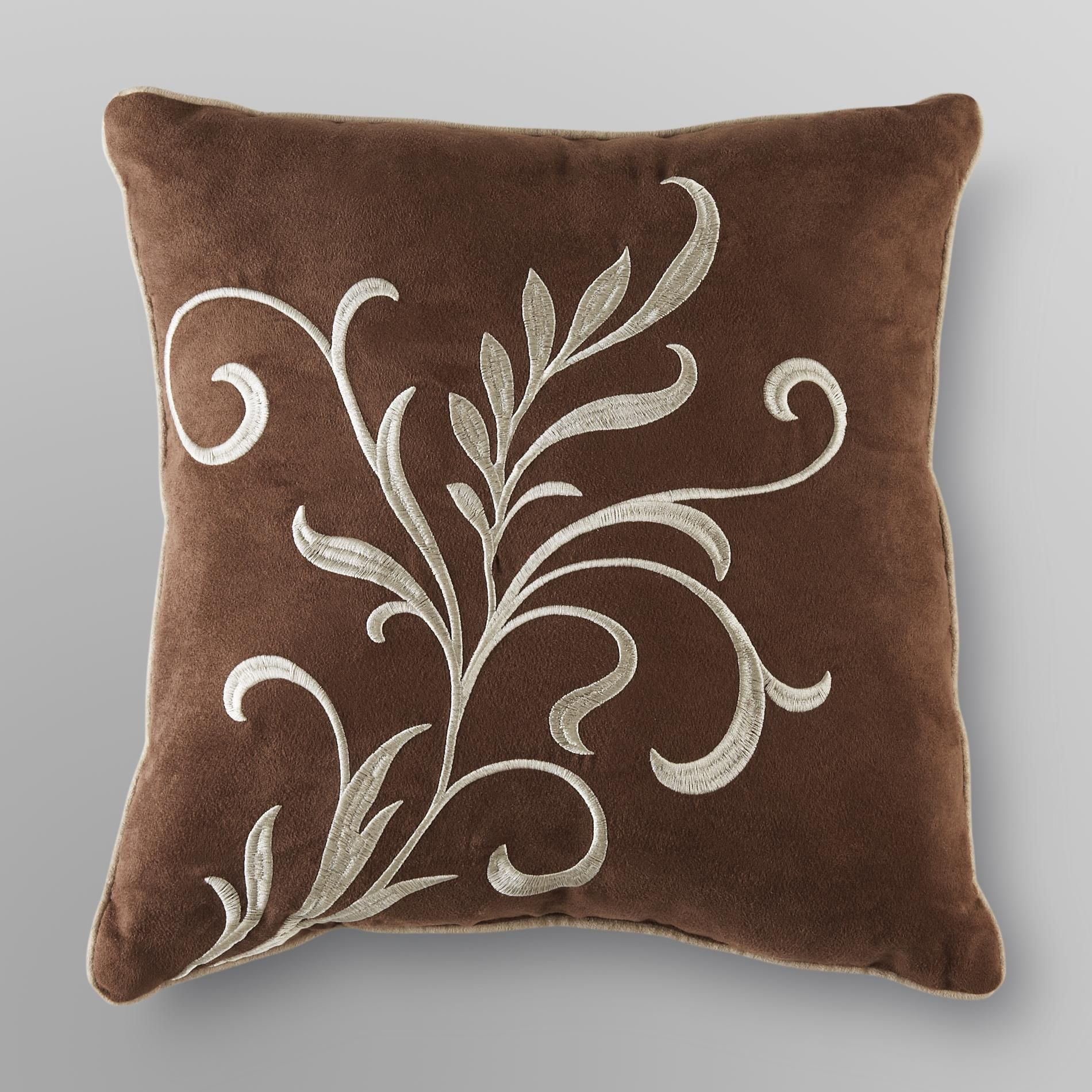 Lancaster Microsuede Pillow - Scroll