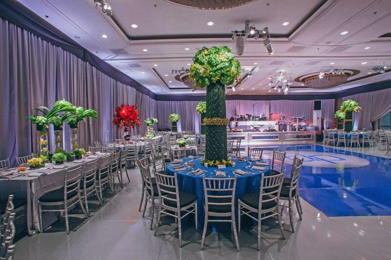 Creative partners empty vase the four seasons international event company mizoko wind · luxury weddingedge designevent