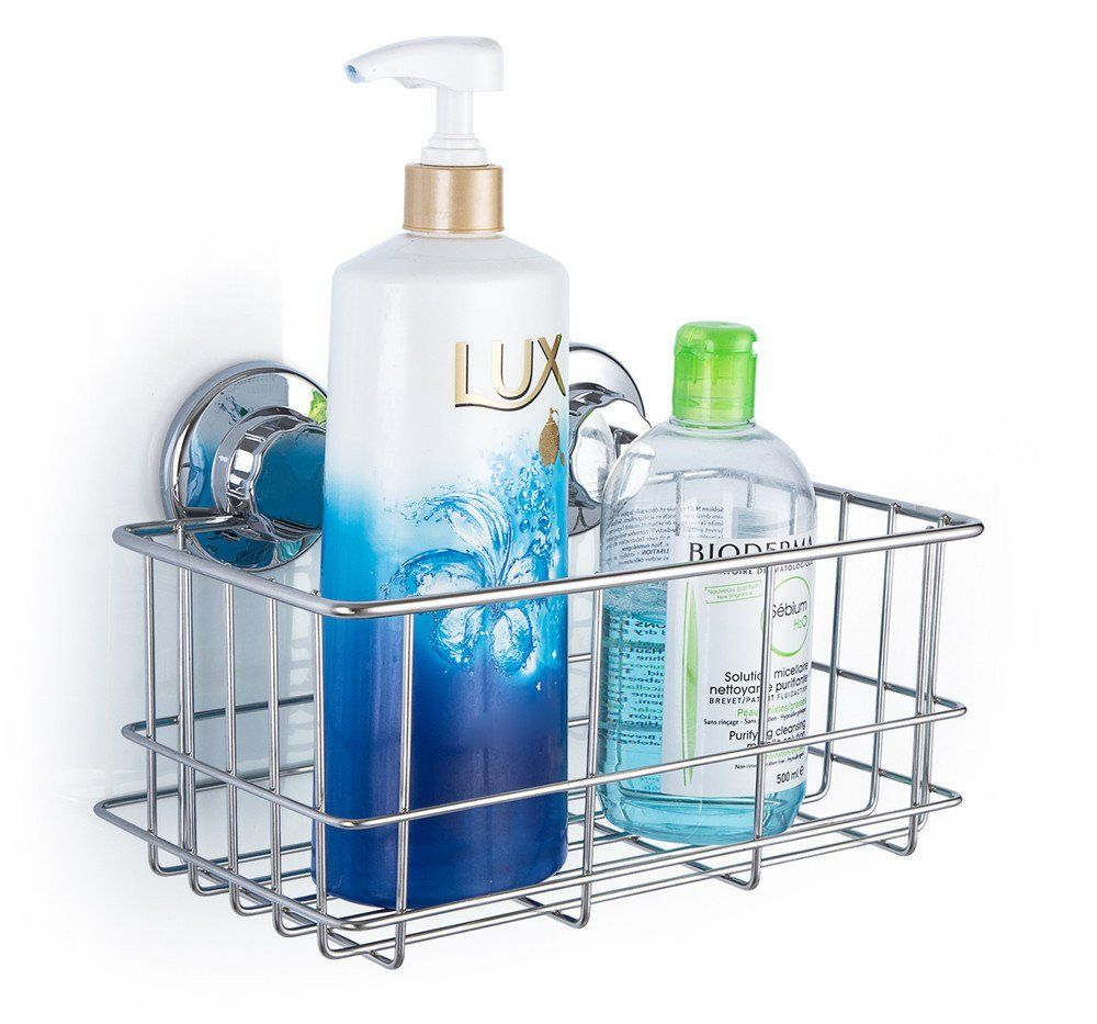 Amazon.com: SANNO Deep Bathroom Basket Shower Caddy Shelf with ...