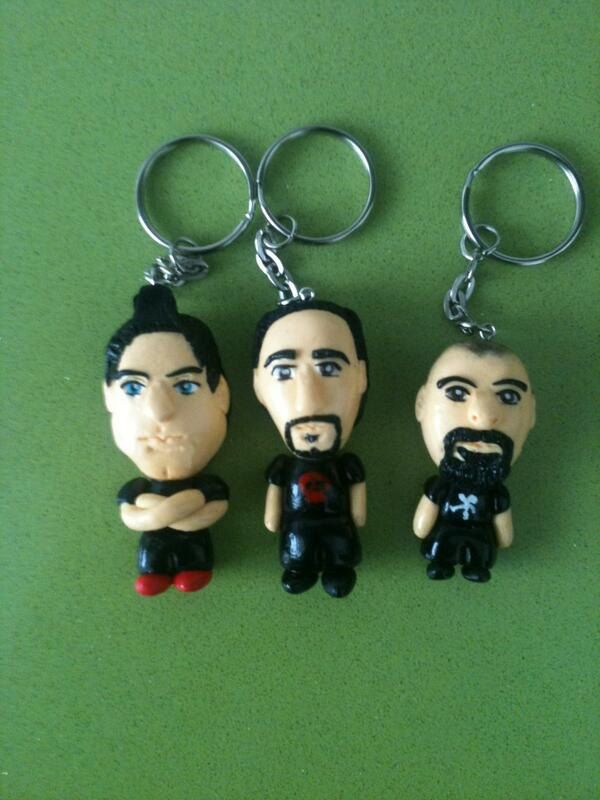 Polymer+clay+Ghost+Adventures+Keychains+by+anapeig+on+Etsy,+€15.00