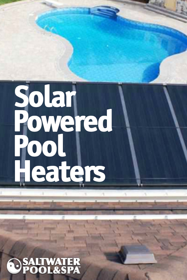 A solar powered pool heater is a great way to lower or ...