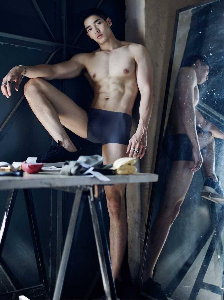 Ana Walczak Nude pin on asian model