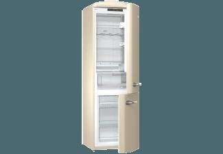 Retro Kühlschrank Vanille : Gorenje onrk c retro collection kühlgefrierkombination a