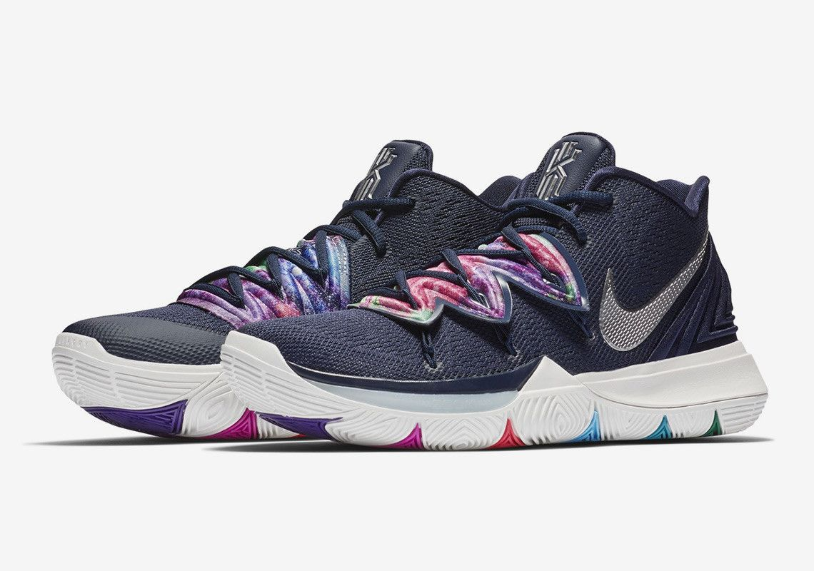 uk availability a13c0 b612a Nike Kyrie 5 Multi Color AO2918-900 Release Date  thatdope  sneakers   luxury  dope  fashion  trending