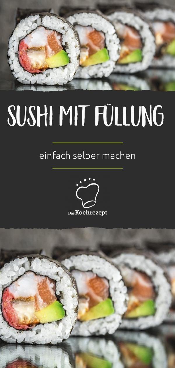Photo of Sushi mit Füllung