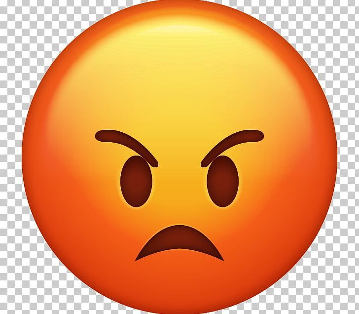 Emoji anger emoticon iphone png anger angry angry