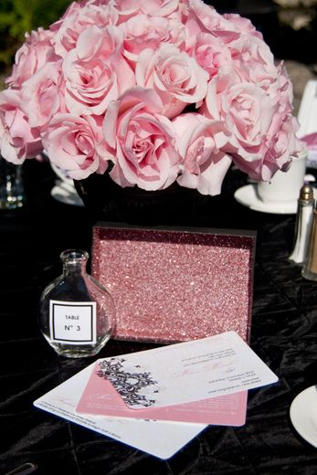 Coco Chanel Baby Shower Party Ideas Graduation Party