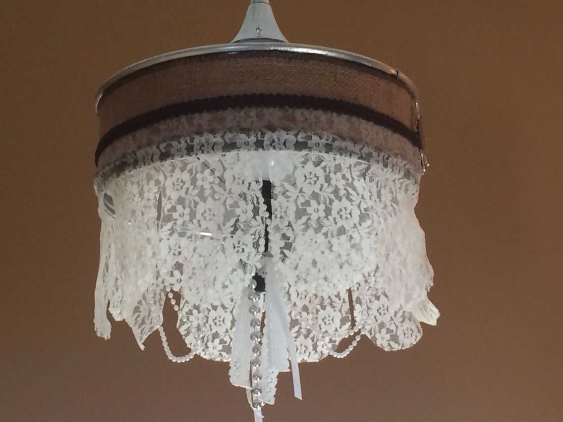 Chandy Made Out Of A Springform Pan And A Curtain Rod Finial With