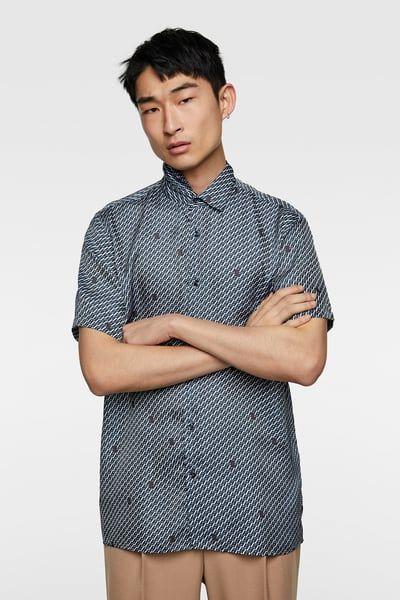 fa2878c51d47 Men's Printed Shirts | Online Sale | ZARA United States