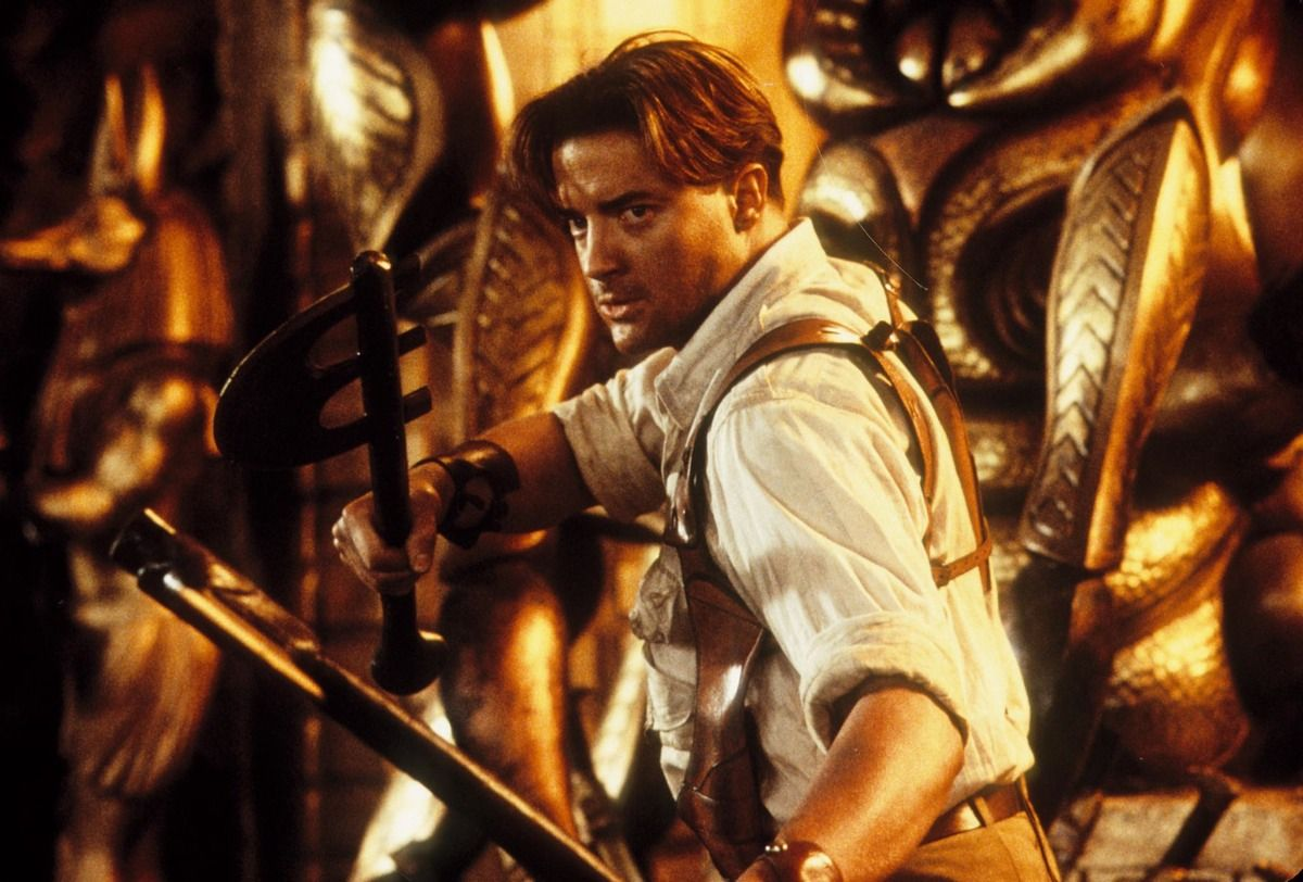 The 15 Best Brendan Fraser Facial Expressions In 2020 Mummy