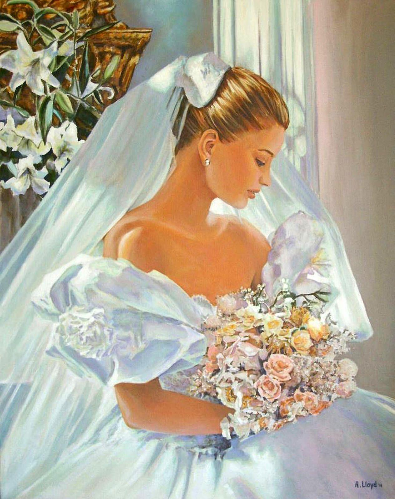 Andy Lloyd Bridal Art Wedding Art Bride