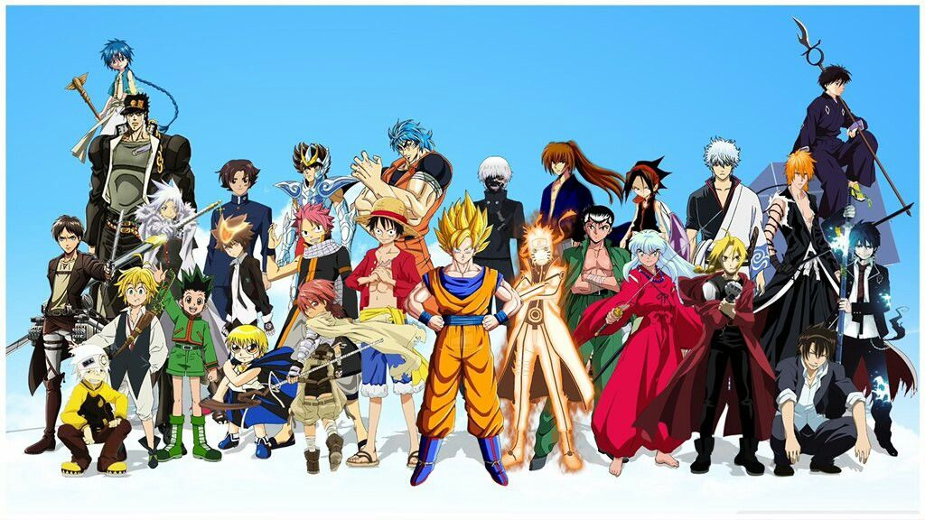 Pin By Vslktu On Anime Anime Crossover All Anime Characters Anime Characters