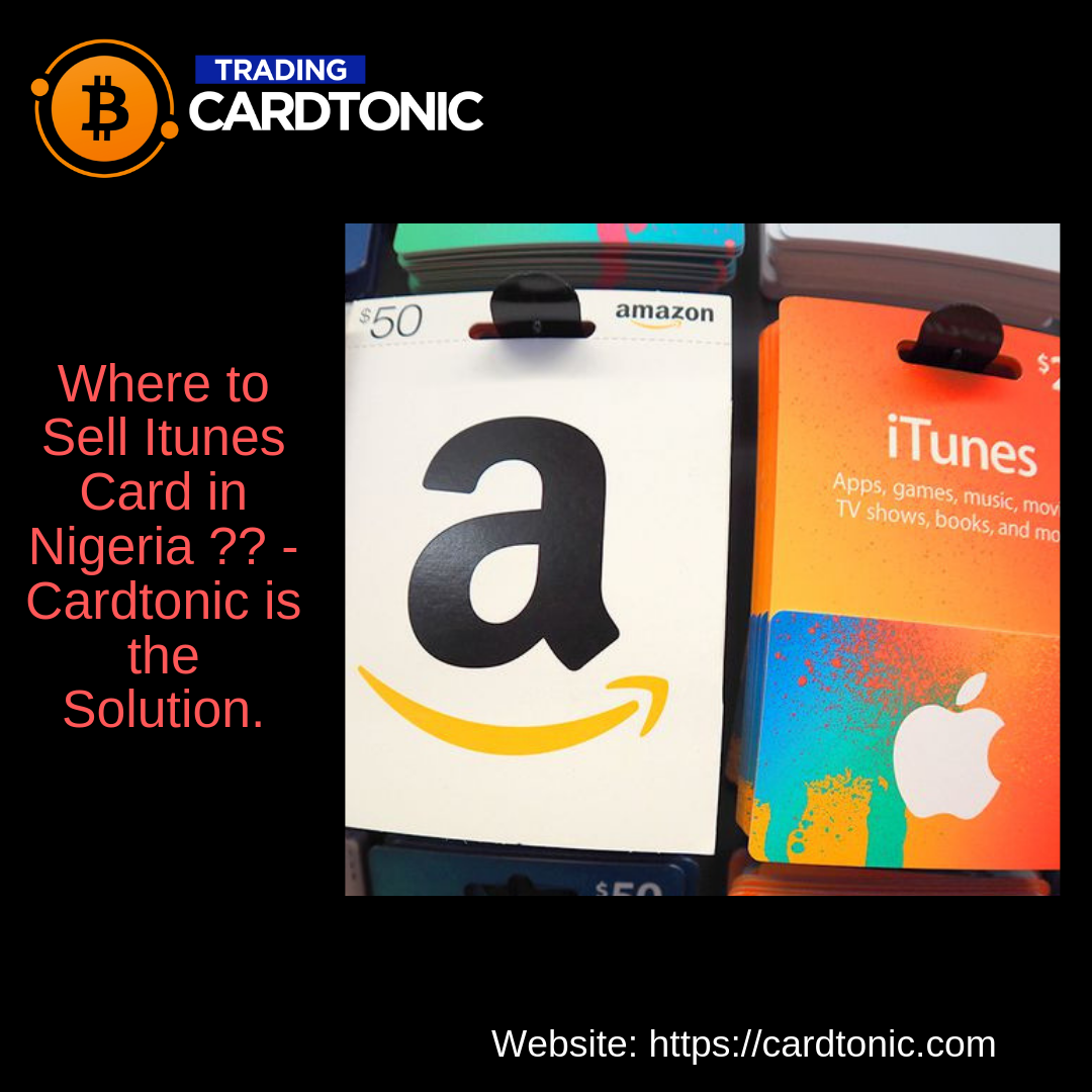 Where To Sell Itunes Card In Nigeria Itunes Card Where To Sell Things To Sell