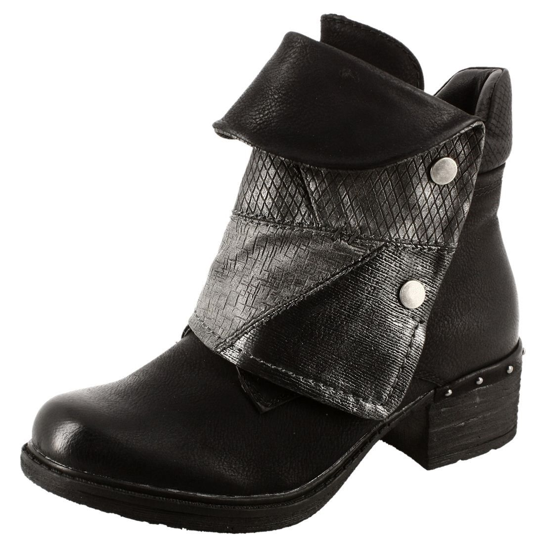 RIEKER bottes bottines bottes d'HIVER y1553-01 Noir Neuf ObbzvJc