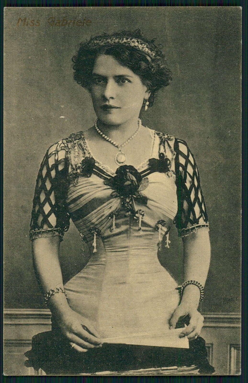 Circus Freak Half Woman Torso Only Luna Park Original Old 1920s