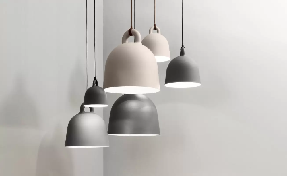 Bell Pendant Lamp Scandinavian Danish Design Co In 2020 Scandinavian Lamps Pendant Lamp Scandinavian Lighting