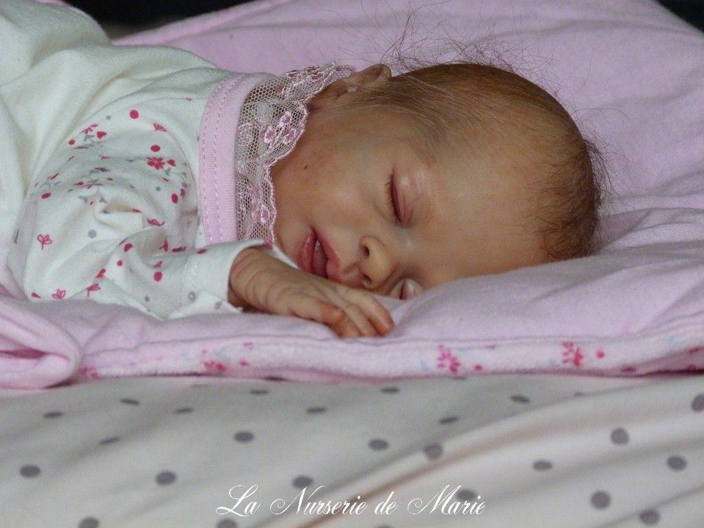 Reborn Preemie Baby Girl Doll Prototype Hope Sabine Hansen