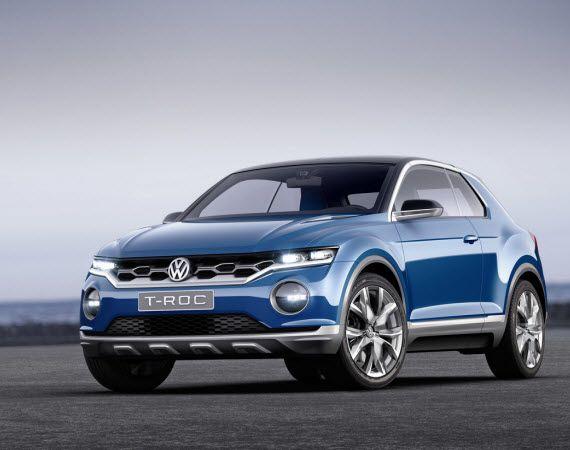 Volkswagen T Roc Concept Volkswagen Volkswagen Car Concept Cars