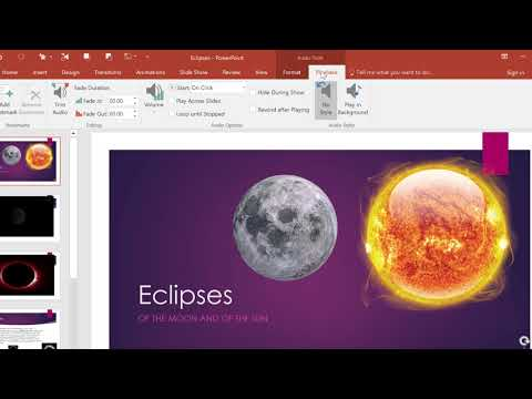 Adding Music to PowerPoint Presentations 2018 PowerPoint