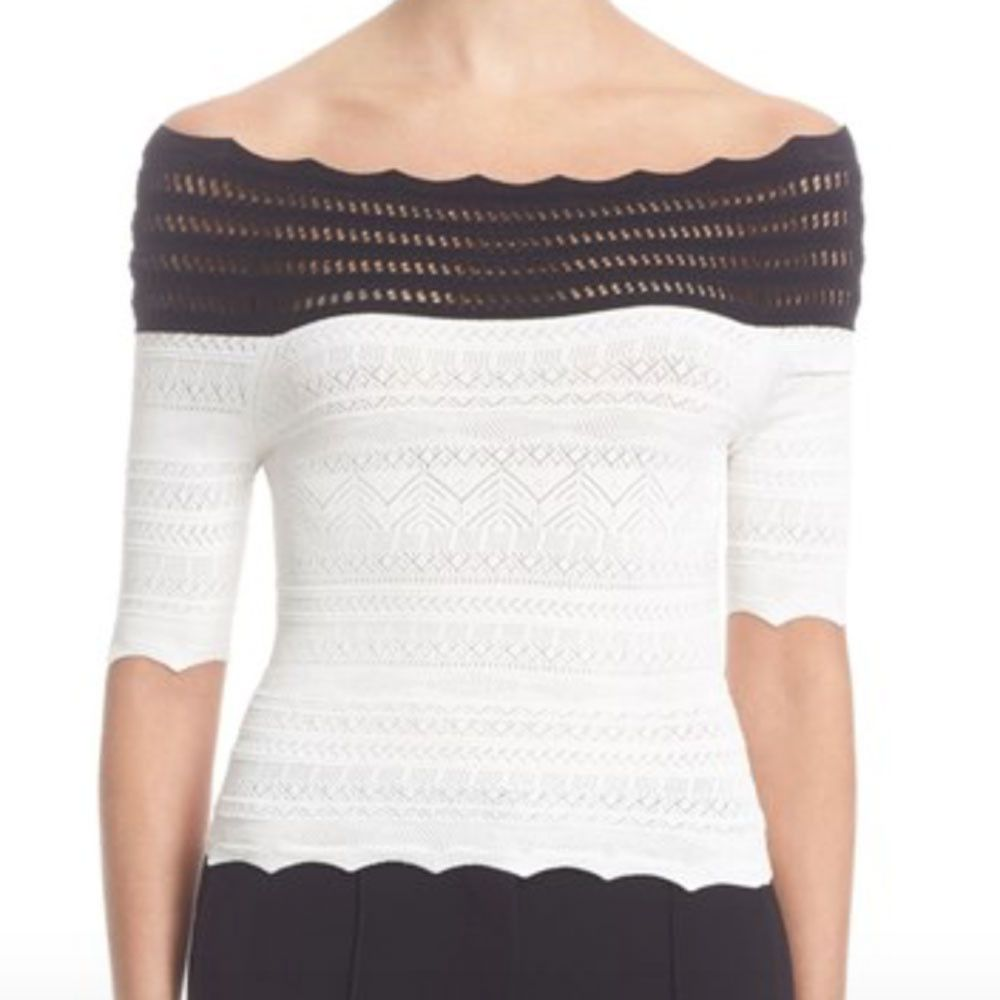 Yigal Azrouel off the shoulder blouse Low Price Online Cheap Fashionable 2018 New d4PqtmHIt