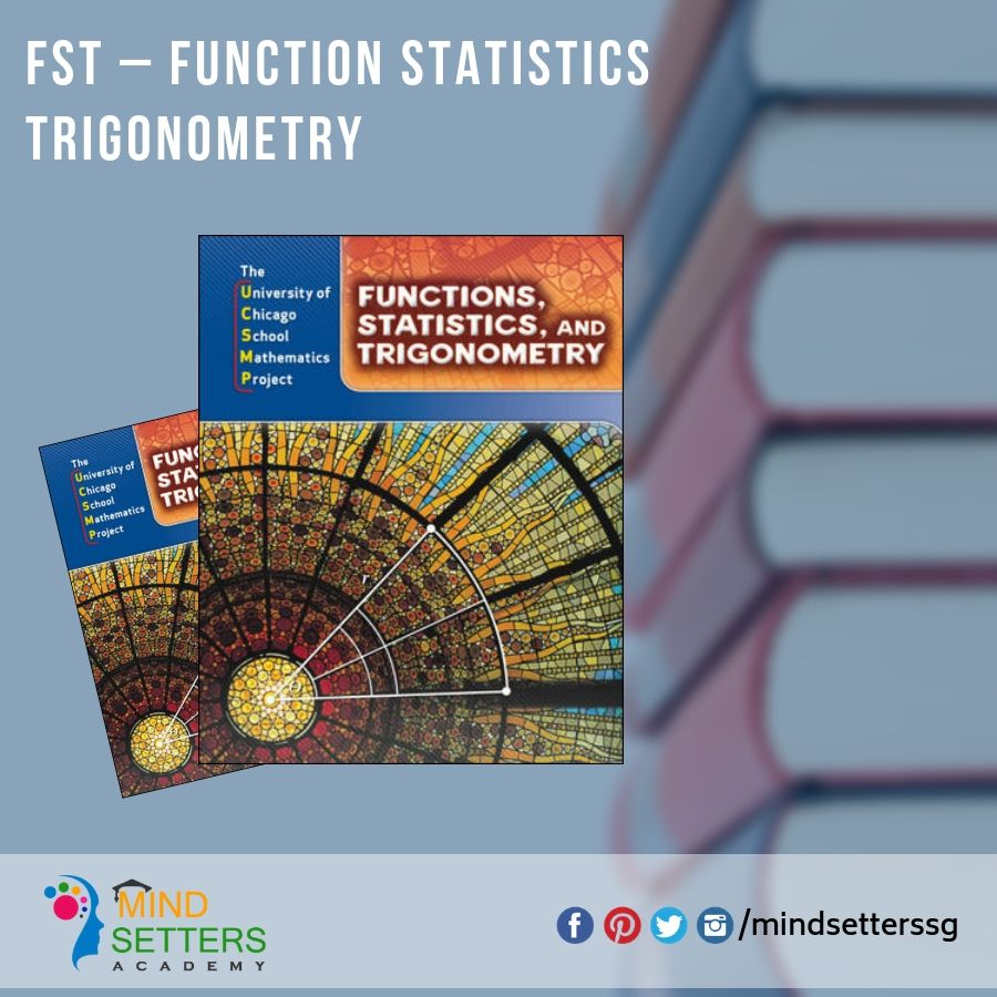 FST Function Statistics Trigonometry! Enroll Yourself