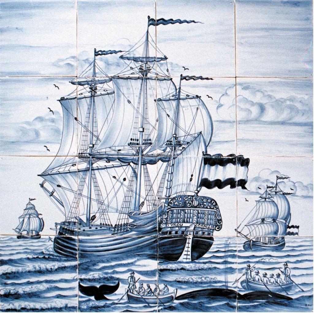 Ab 1700 Kommen Die Delfter Fliesen Zu Uns 1500er Pinterest