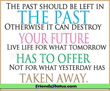 Quotes On Attitude And Success Past Future Attitude Quotes Status