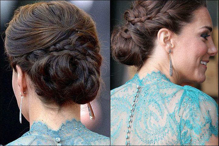 The Elegant Royal Bun Bridal Hair Buns Hairstyle Bun Hairstyles