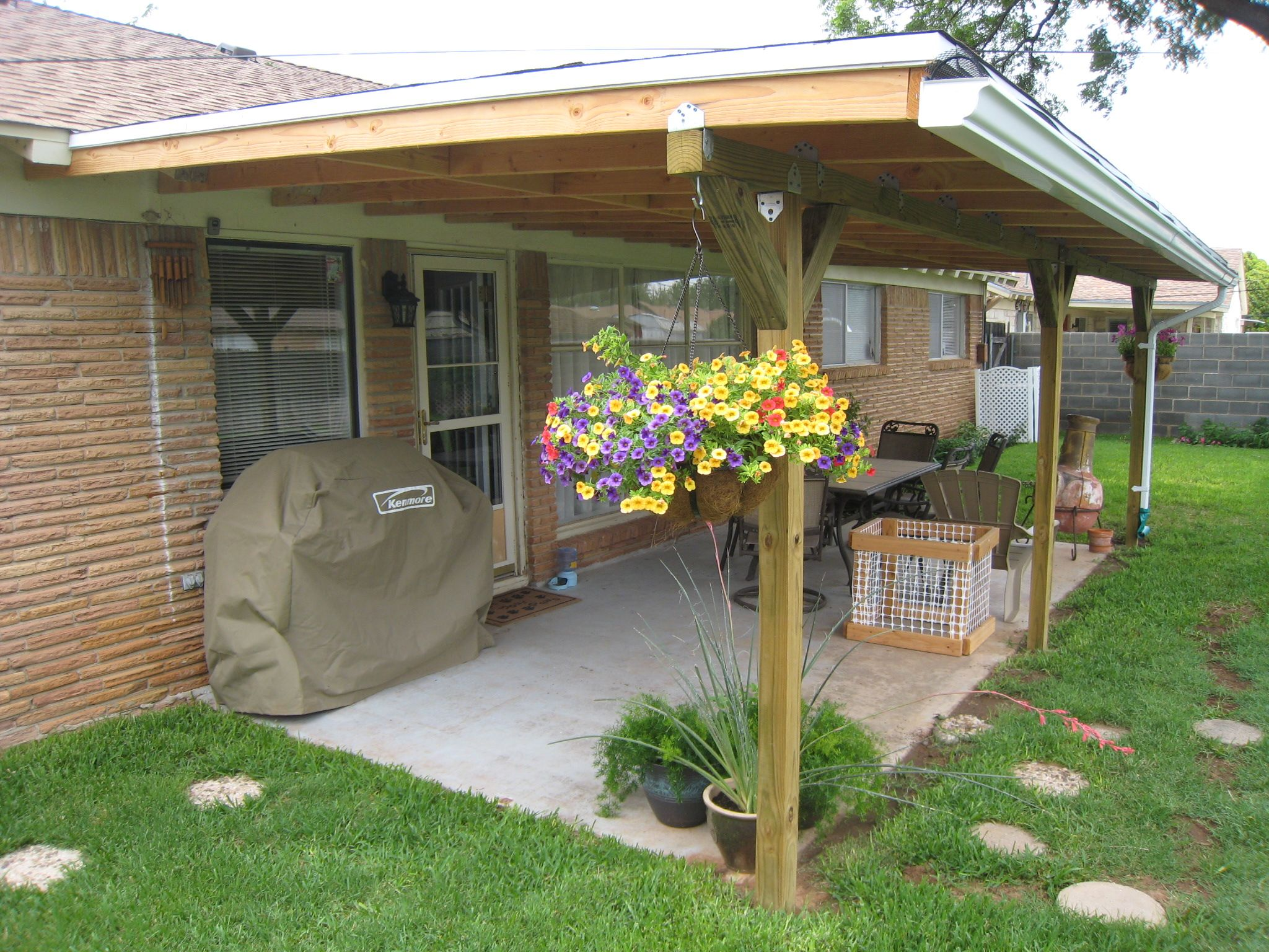 July 2011 Runnerup Winner Patio cover makeover Canopy