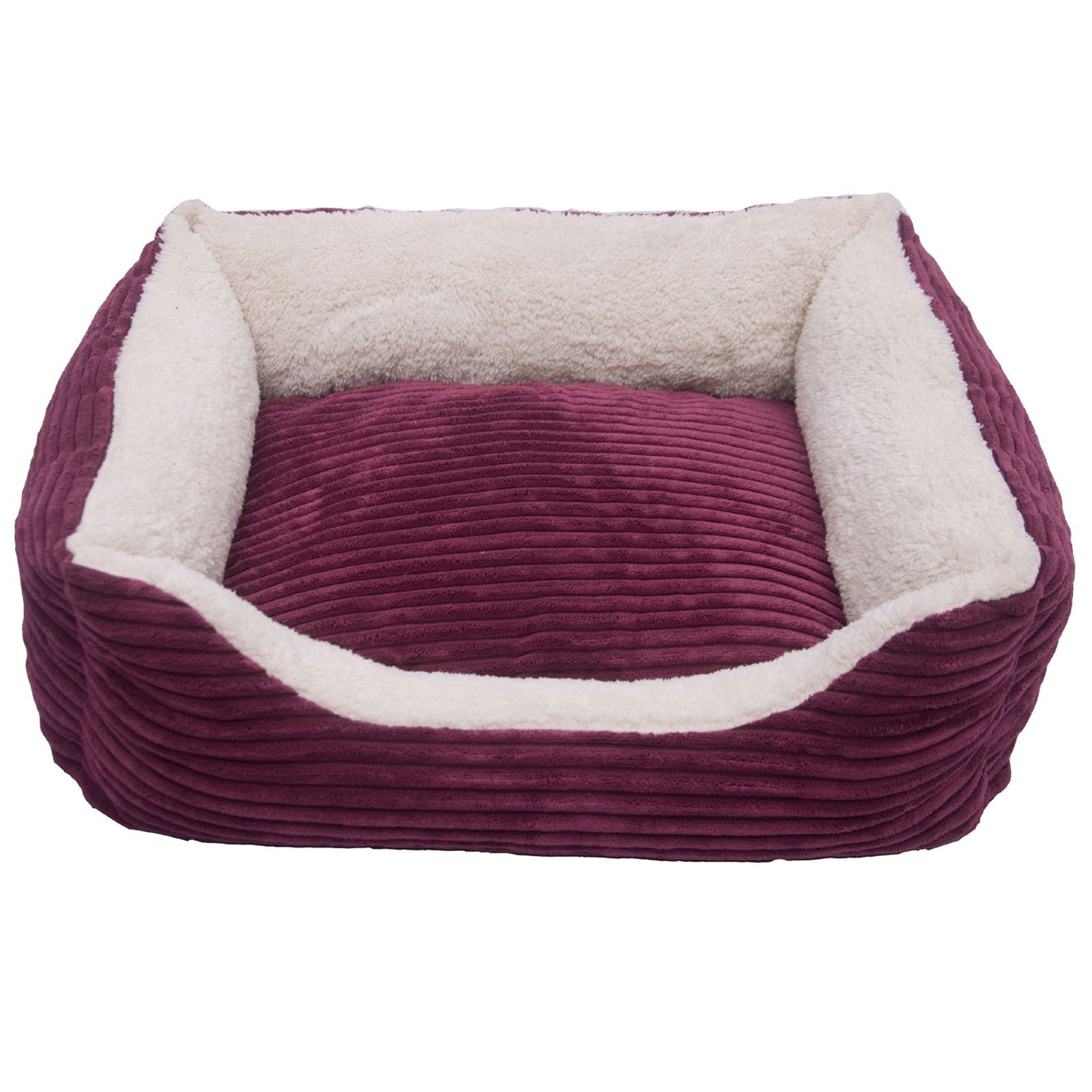 Iconic Pet Luxury Lounge Bolster Pet Bed - 51483