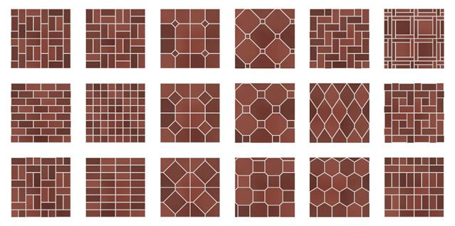 Patterns For Paver Bricks 40 Patterns That Can Be Generated Enchanting Brick Paver Patterns