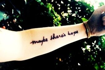 Best Short Life Quote Tattoos for Girls - Meaningful Arm Short Life Quote Tattoos for Girls